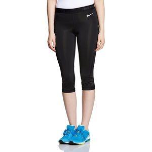 Nike Hyper Cool Capri in black (women's)